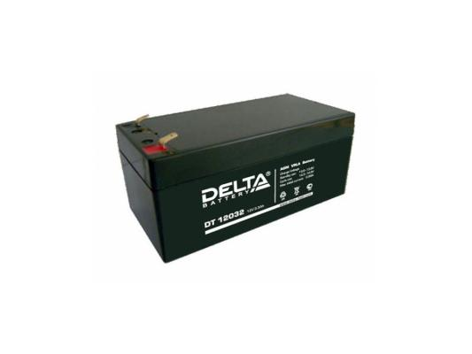 Батарея Delta DT 12032 3.2Ач 12B delta battery dt 1207 12v 7ah