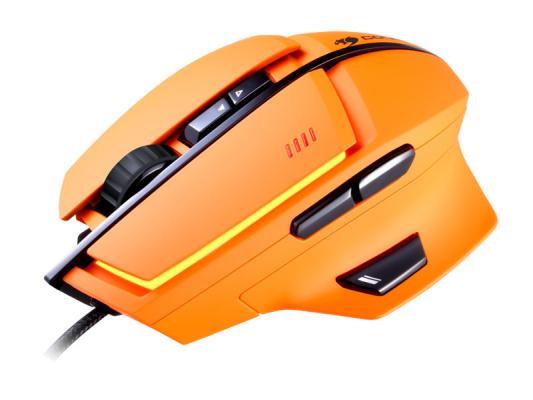 Мышь проводная COUGAR 600M оранжевый USB