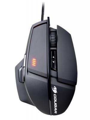 Мышь проводная COUGAR 600M чёрный USB от 123.ru