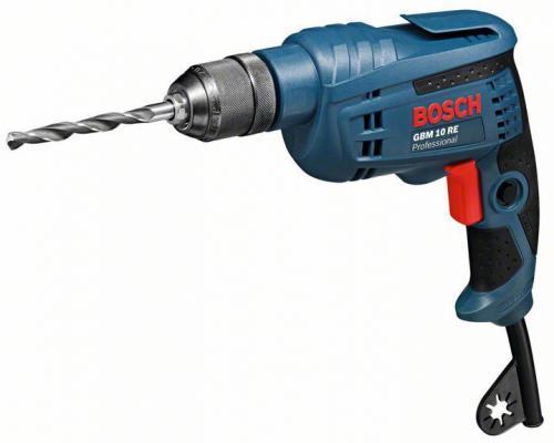 Дрель-шуруповерт Bosch GBM 10 RE 600Вт 0601473600