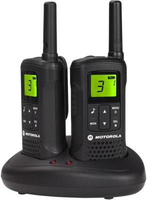 Радиостанция Motorola TLKR-T61 черный радиостанция motorola tlkr t80 2 штуки