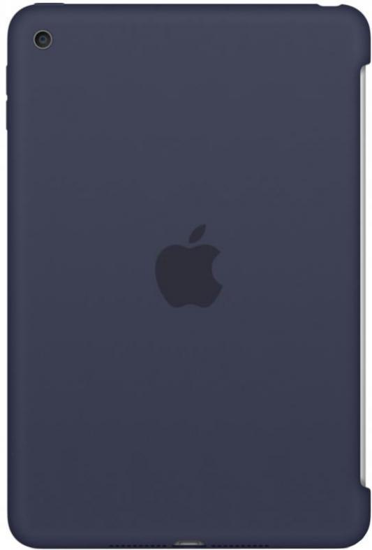 Чехол (клип-кейс) Apple Silicone Case для iPad mini 4 синий MKLM2ZM/A