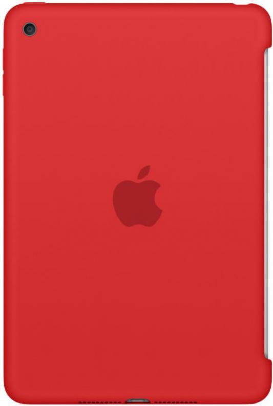 Чехол (клип-кейс) Apple Silicone Case для iPad mini 4 красный MKLN2ZM/A