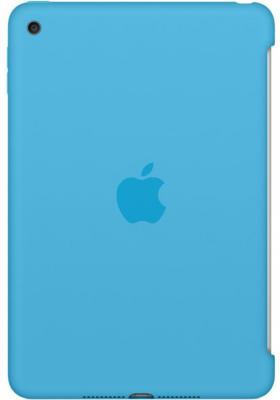 Чехол (клип-кейс) Apple Silicone Case для iPad mini 4 голубой MLD32ZM/A