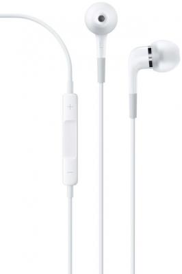 Наушники Apple EarPods with Remote and Mic ME186ZM/B все цены