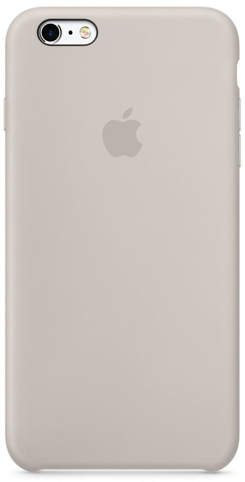 Apple Чехол (клип-кейс) Apple Silicone Case для iPhone 6S Plus iPhone 6 Plus бежевый MKXN2ZM/A