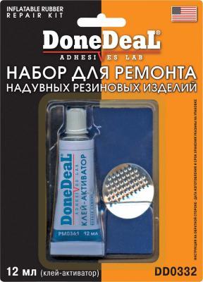 Набор для ремонта камер Done Deal DD 0332 инструмент для ремонта бескамерных шин done deal dd 0344