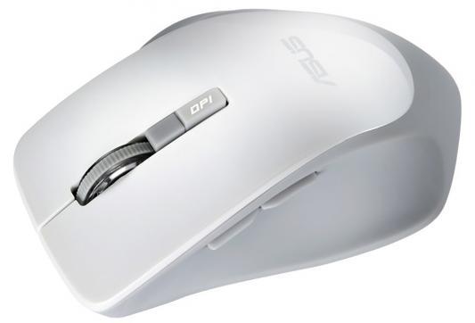 Мышь беспроводная ASUS WT425 белый USB + радиоканал 90XB0280-BMU010 цена