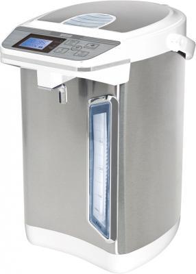 Термопот MYSTERY MTP-2442 700 Вт серебристый белый 4.3 л металл/пластик