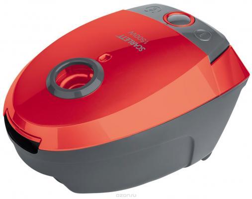 Пылесос Scarlett SC-VC80B07 с мешком сухая уборка 1500Вт красный пылесос scarlett sc vc80b04 1500вт серый красный