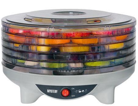 Сушилка для овощей и фруктов Mystery MDH-321 250Вт белый