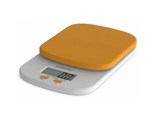 Весы кухонные StarWind SSK2158 оранжевый