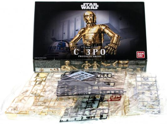 Star Wars Bandai C-3PO 1:12 золотистый 84617