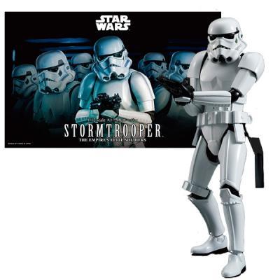 Штурмовик Bandai Star Wars сборная модель 1:12 белый 84622