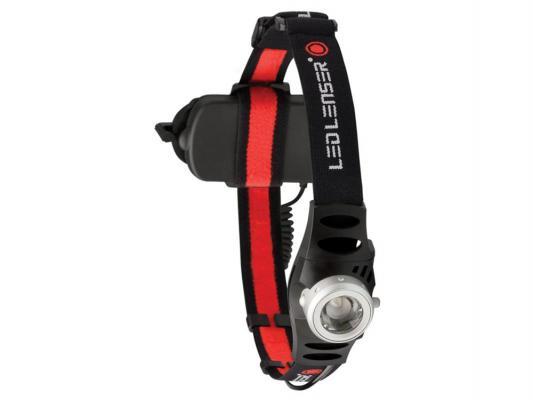 Фонарь Led Lenser H6 7296-R светодиодный налобный черный