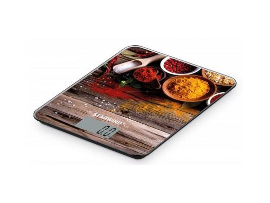 Весы кухонные StarWind SSK3358 рисунок