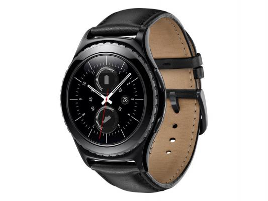 Смарт-часы Samsung Galaxy Gear S2 SM-R7320 черный SM-R7320ZKASER