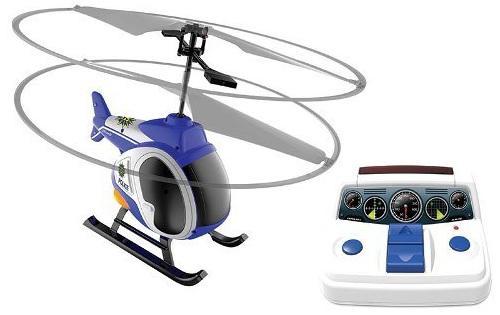 Вертолёт на радиоуправлении Silverlit Моя первая вертолетная станция пластик от 5 лет синий 84703