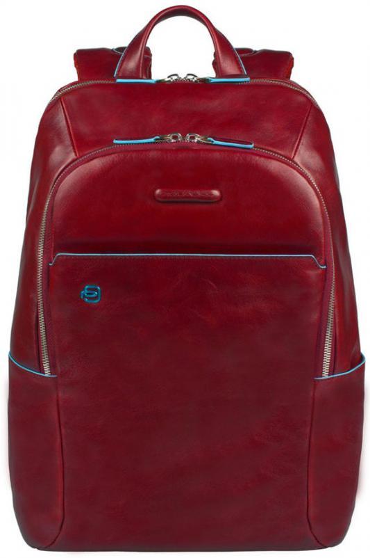 Рюкзак Piquadro Blue Square кожа красный CA3214B2/R