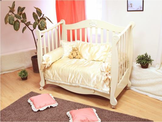 Кроватка-диван Красная Звезда Валерия С749 (слоновая кость/22)