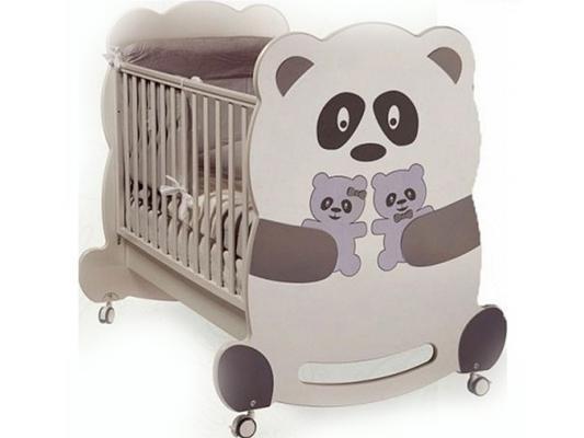 Кроватка-качалка Feretti Velvet (panda)