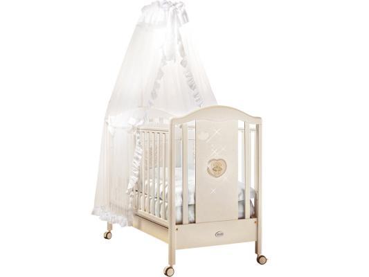 Кроватка-качалка Feretti Mon Amour Dontolo (bianco)
