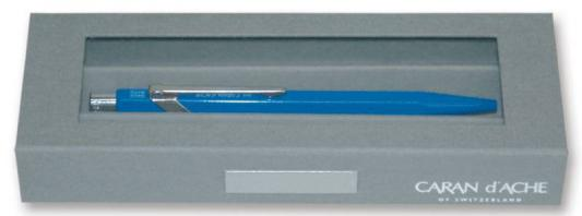 Коробка Carandache Gift Box для 2 ручек/карандашей 849/844 серый 100009.453