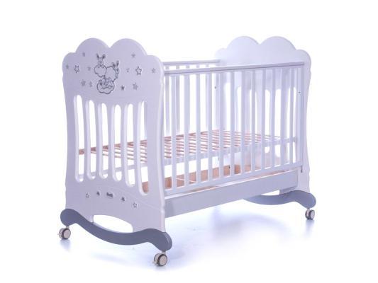 Кроватка-качалка Feretti Etoile Dargent (bianco)
