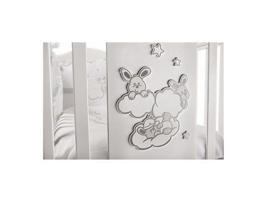 Кроватка-качалка Feretti Romance Dondolo (bianco)