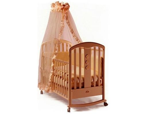 Кроватка-качалка Feretti Elegance Dondolo (noce)