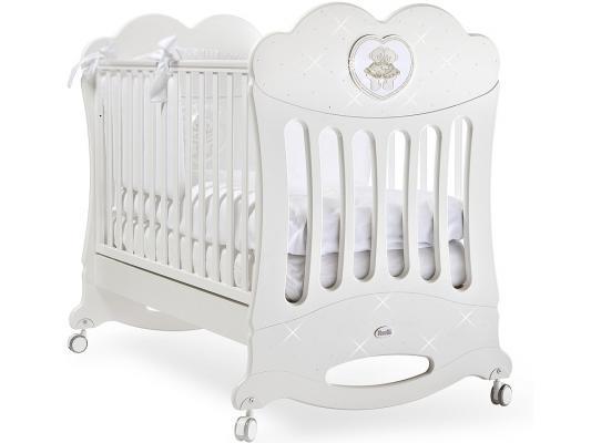 Кроватка-качалка Feretti Chaton (bianco)