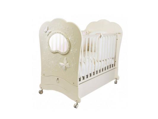Кроватка-качалка Feretti Oblo Charme Brillante (avorio)