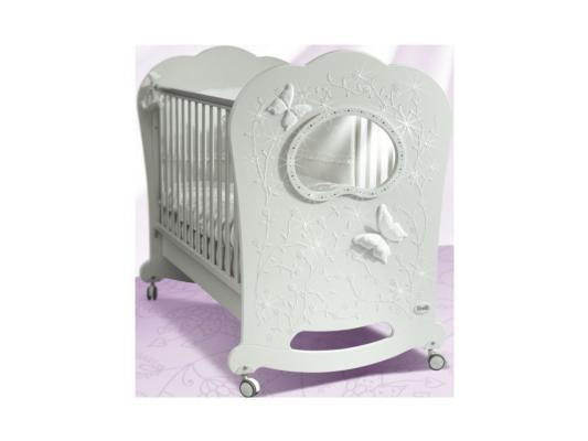 Кроватка-качалка Feretti Oblo Charme Brillante (bianco)