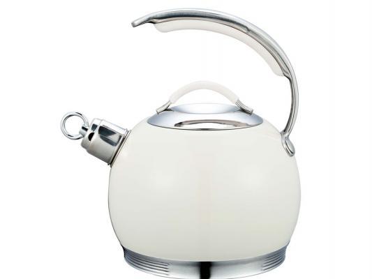 Чайник Bekker BK-S518 белый 3 л нержавеющая сталь