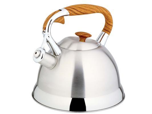 Чайник Bekker 525-BK S серебристый 2.7 л нержавеющая сталь