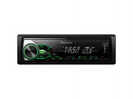 Автомагнитола Pioneer MVH-180UBG USB MP3 FM RDS 1DIN 4x50Вт черный