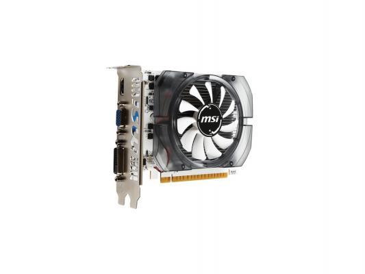 Видеокарта 2048Mb MSI GeForce GT730 PCI-E GDDR5 64bit DVI HDMI CRT HDCP N730K-2GD5/OCV1 Retail