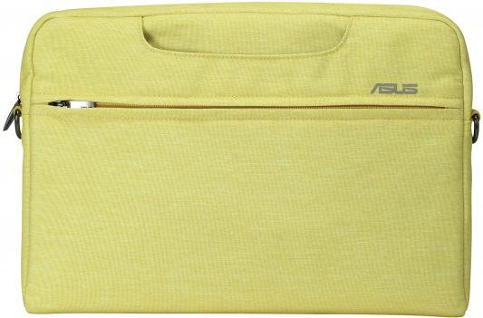 """Сумка для ноутбука 12"""" ASUS EOSSHOULDERBAG/12INCH полиэстер желтый 90XB01D0-BBA020"""