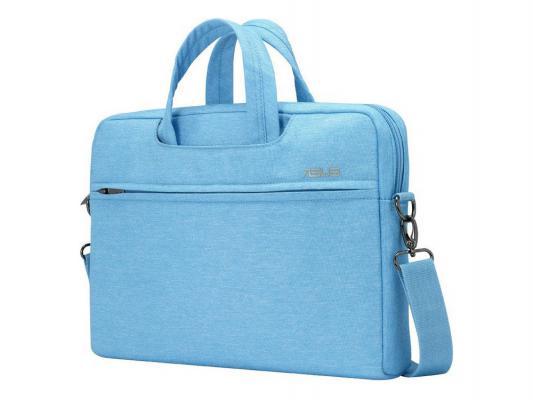 """Сумка для ноутбука 12"""" ASUS EOS Shoulder BAG полиэстер голубой 90XB01D0-BBA010"""