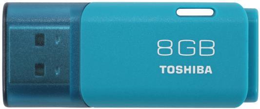 Флешка USB 8Gb Toshiba Hayabusa THN-U202L0080E4 голубой