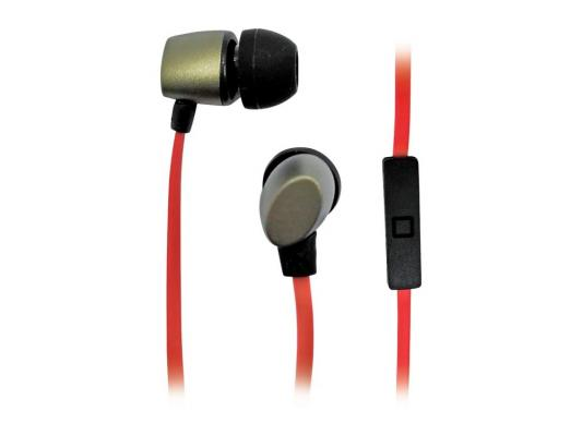 Наушники BBK EP-1560S золотисто-красный