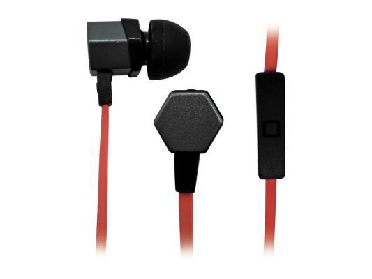 Наушники BBK EP-1540S серо-красный  цена