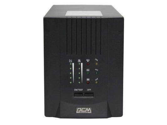ИБП Powercom Smart King Pro+ SPT-3000 2100Вт 3000ВА черный статистически нерегулярные оптические и электрические кабели связи