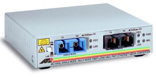 Медиаконвертер Allied Telesis AT-MC104XL-60 100FXSC to 100FXSC