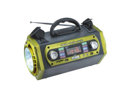 Радиоприемник Сигнал VIKEND ENERGY черно-зеленый