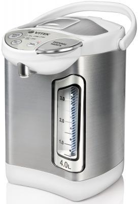 Термопот Vitek VT-1192 750 Вт белый серый 4 л нержавеющая сталь
