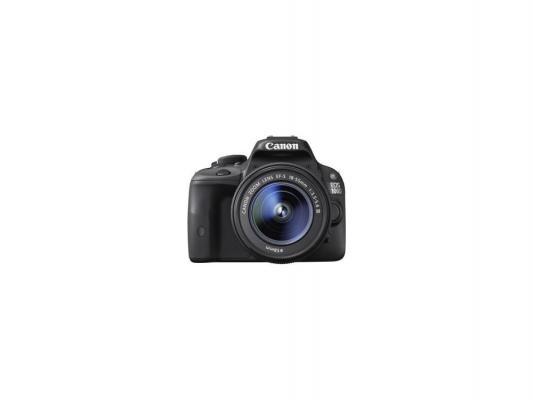 Зеркальная фотокамера Canon EOS 100D черный 18Mpix EF-S 18-55mm f/3.5-5.6 DCIII
