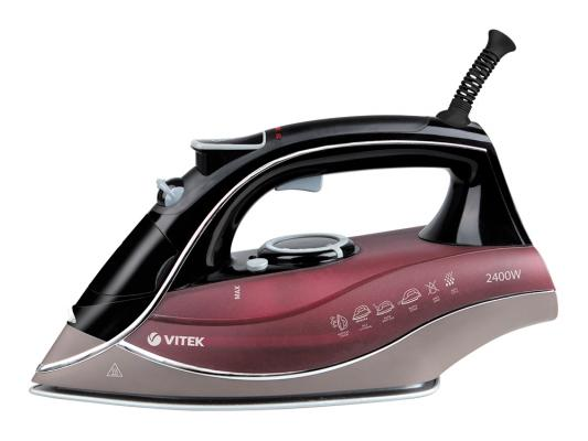Утюг Vitek VT-1240 BD 2400Вт черно-бордовый vitek vt 1240