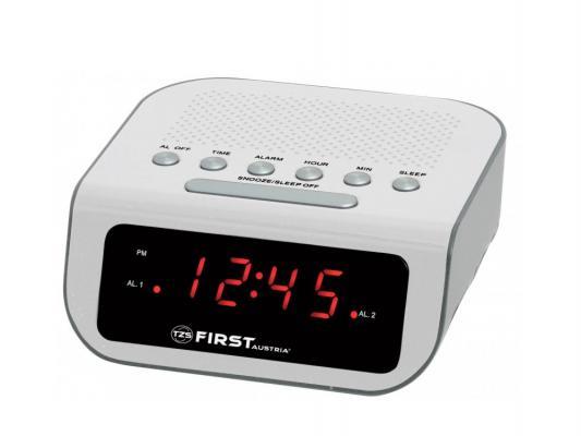 Часы с радиоприёмником First 2406-1 белый