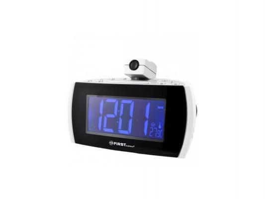Часы с радиоприёмником First 2421-2 белый